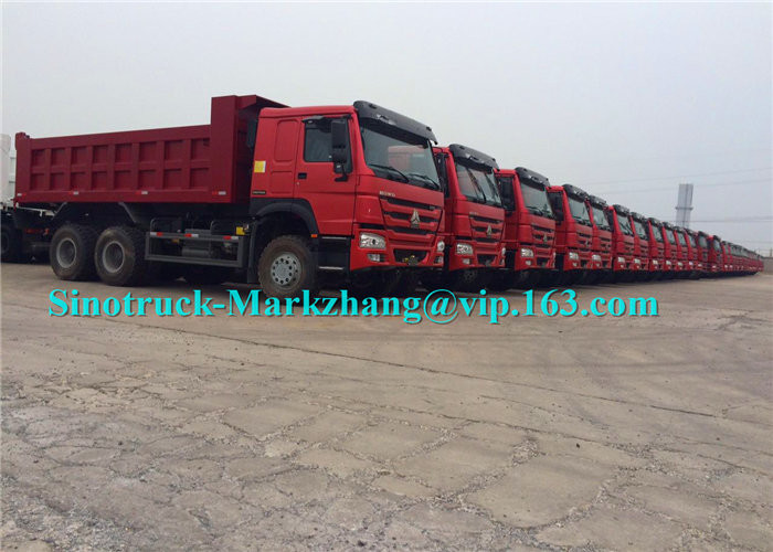 30 Cubic Meter 6x4 Tipper Truck , Automatic Transmission Dump Truck For Mining