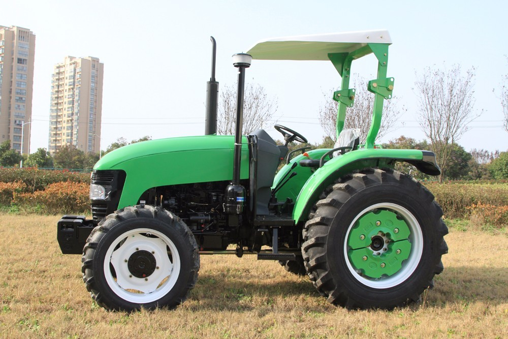 Red 4WD Agriculture Farm Tractors With 3 Point Suspension And Double Stage Clutch JM-254